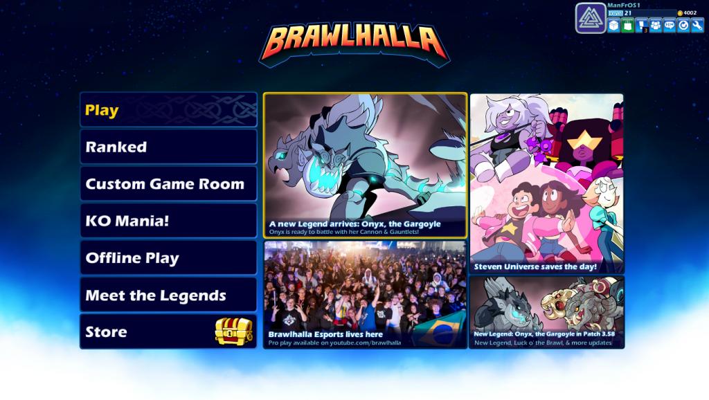 ¿Qué es Brawlhalla? Personajes