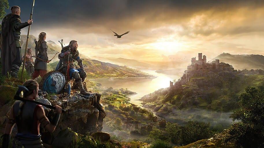 Assassins Creed Valhalla Ubisoft trailer mapa poster original