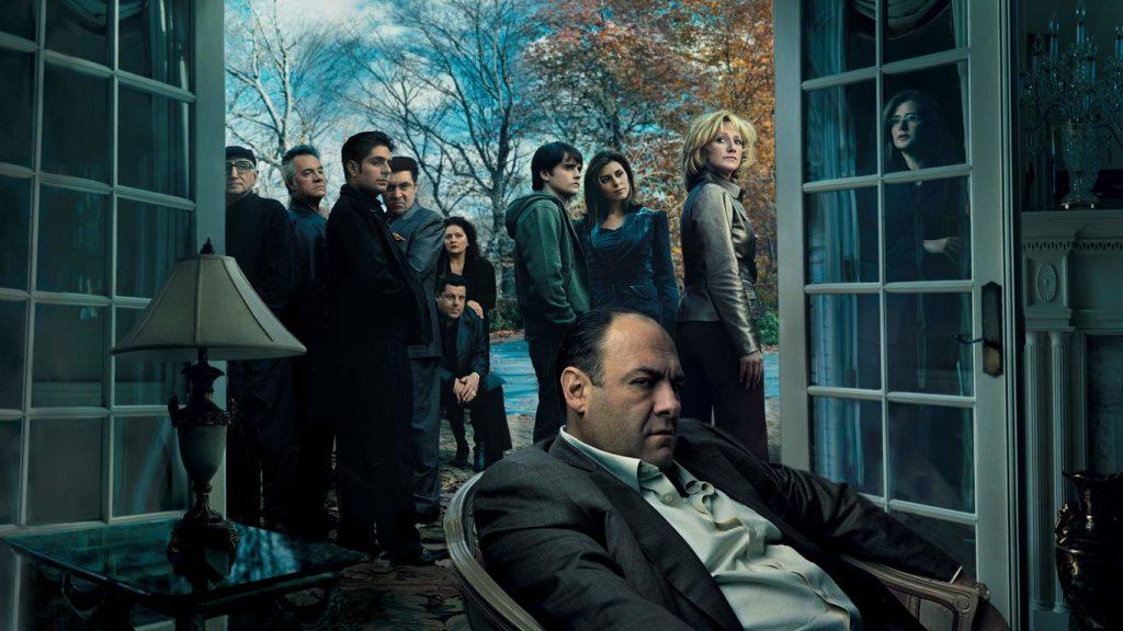 Los sopranos serie HBO