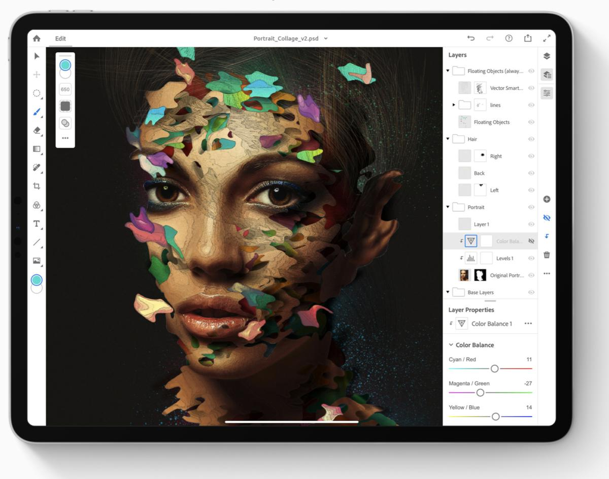 Adobe Illustrator para iPad ya está disponible apple