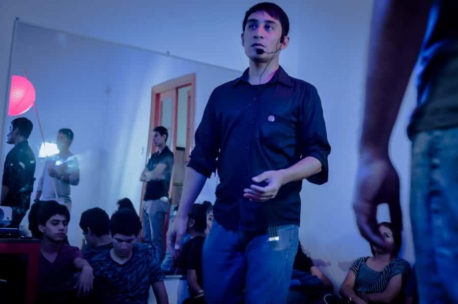 Carlos Guerrero Entrevista al gerente general de Norcinema en Lambayeque cine