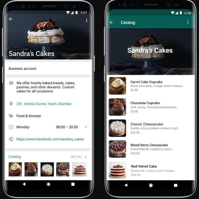 Catalogos Whatsapp Business QR