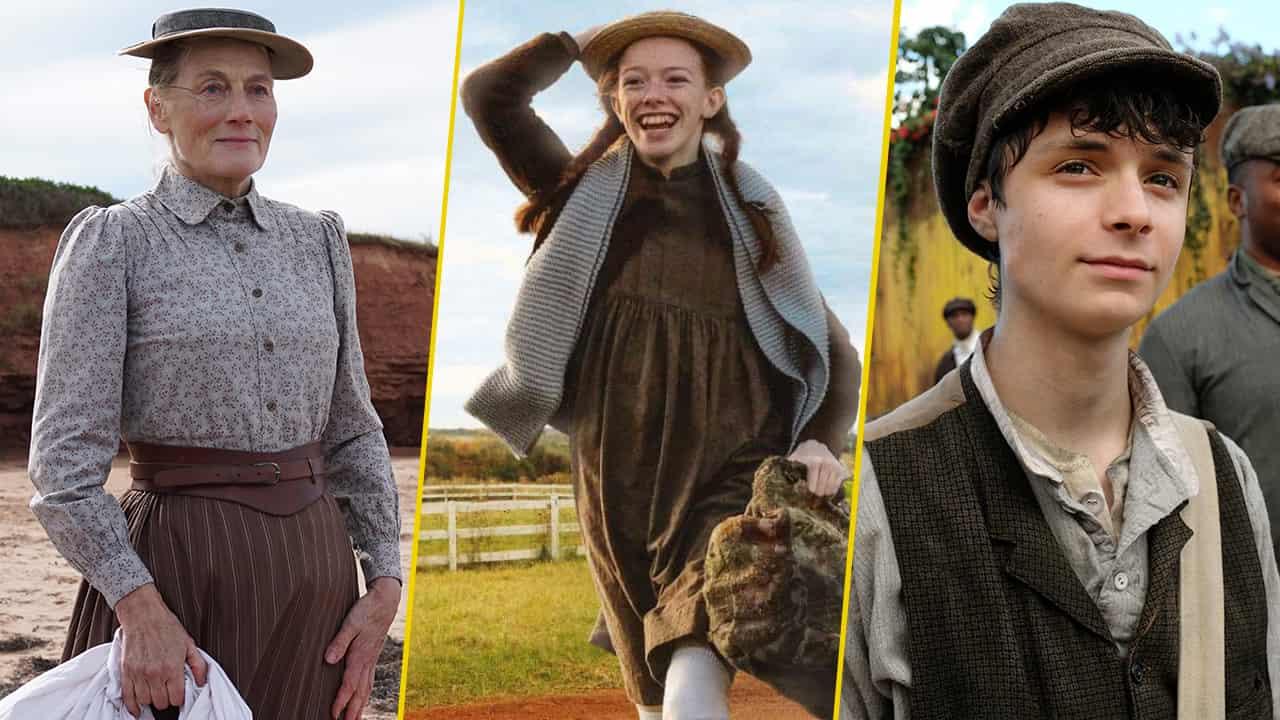 Cinco razones para ver Anne With an E personajes actores