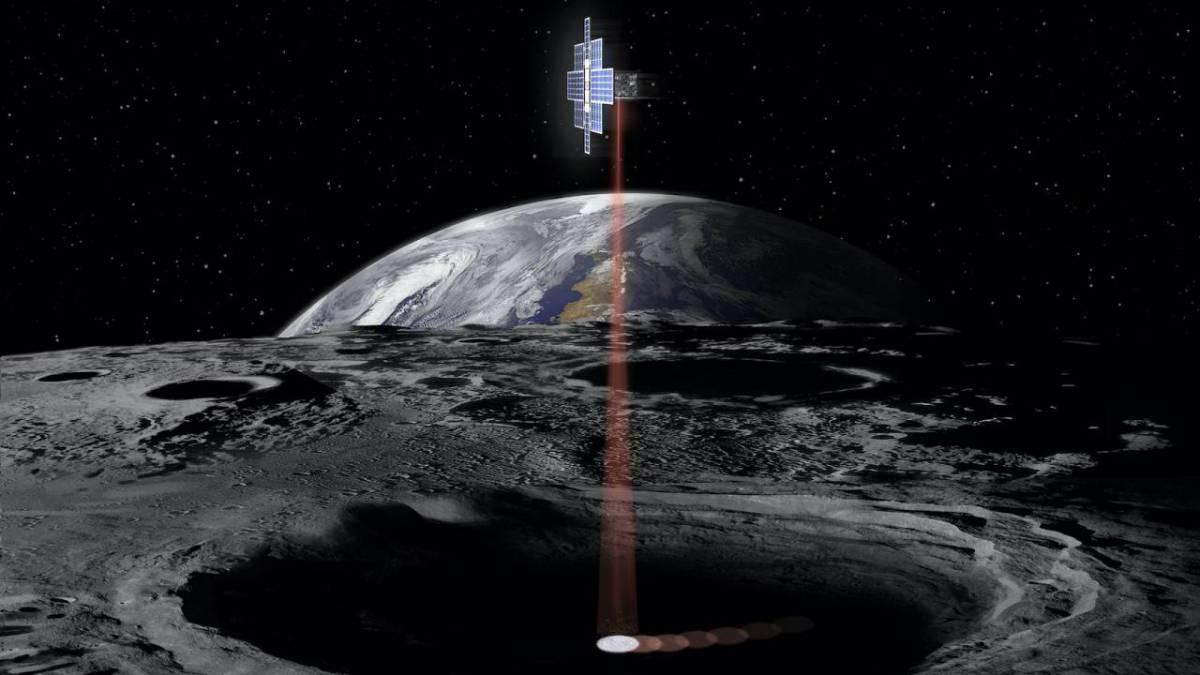 Como encontraron agua en la luna