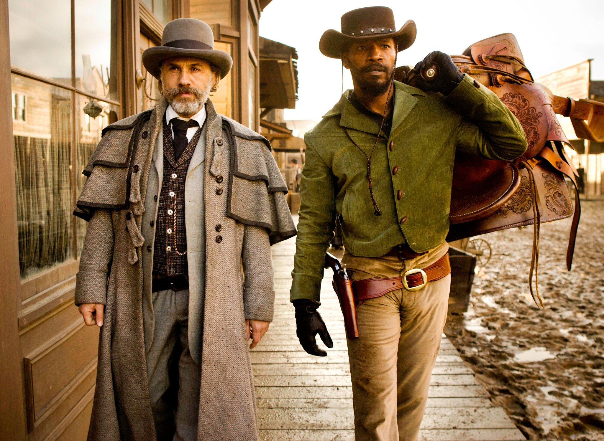Django desencadenado, el encuentro de géneros cinematográficos actores