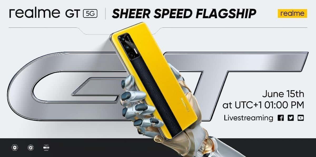 El Realme GT 5G llegará este 15 de junio de manera global