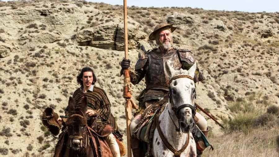 El hombre que mató a Don Quijote, una película de Terry Gilliam adam driver