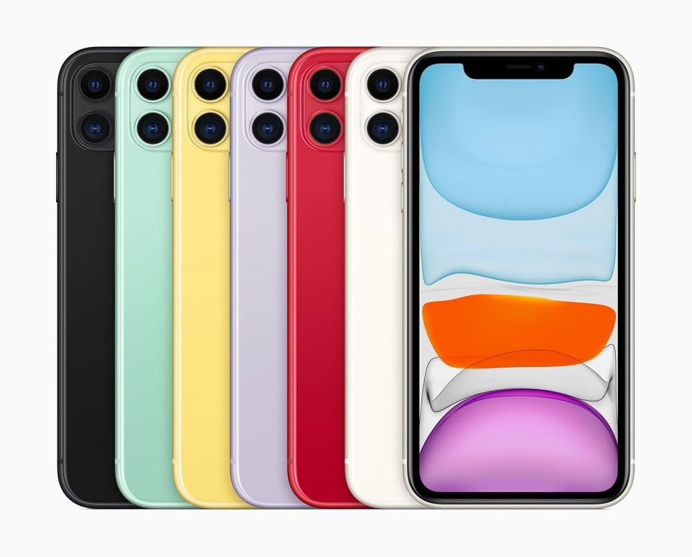 El iPhone 11 hasta ahora el celular más vendido del 2020 listo