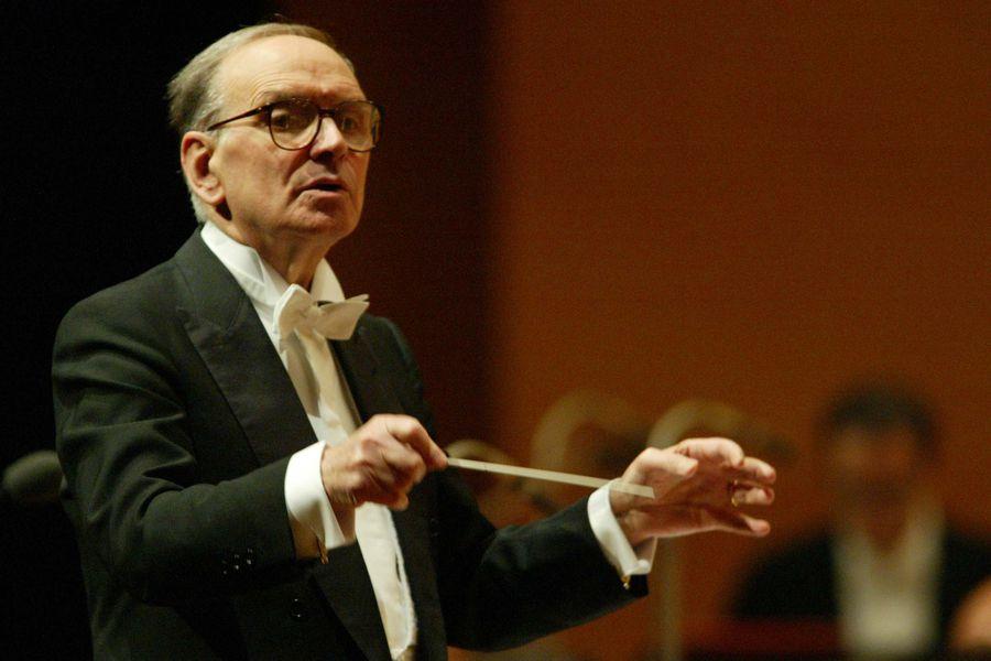 Ennio Morricone compositor Roma Peliculas Música