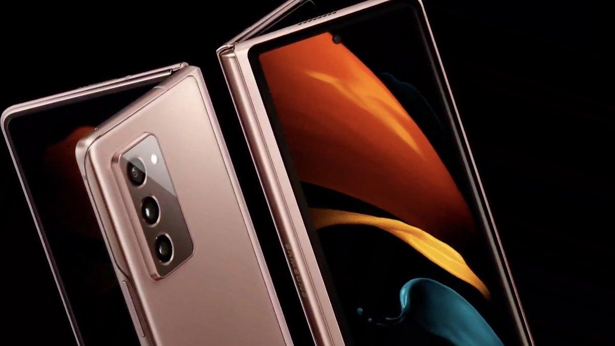 Galaxy Z Fold 2 El nuevo celular de Samsung llegará el 18 de septiembre peru camara delantera