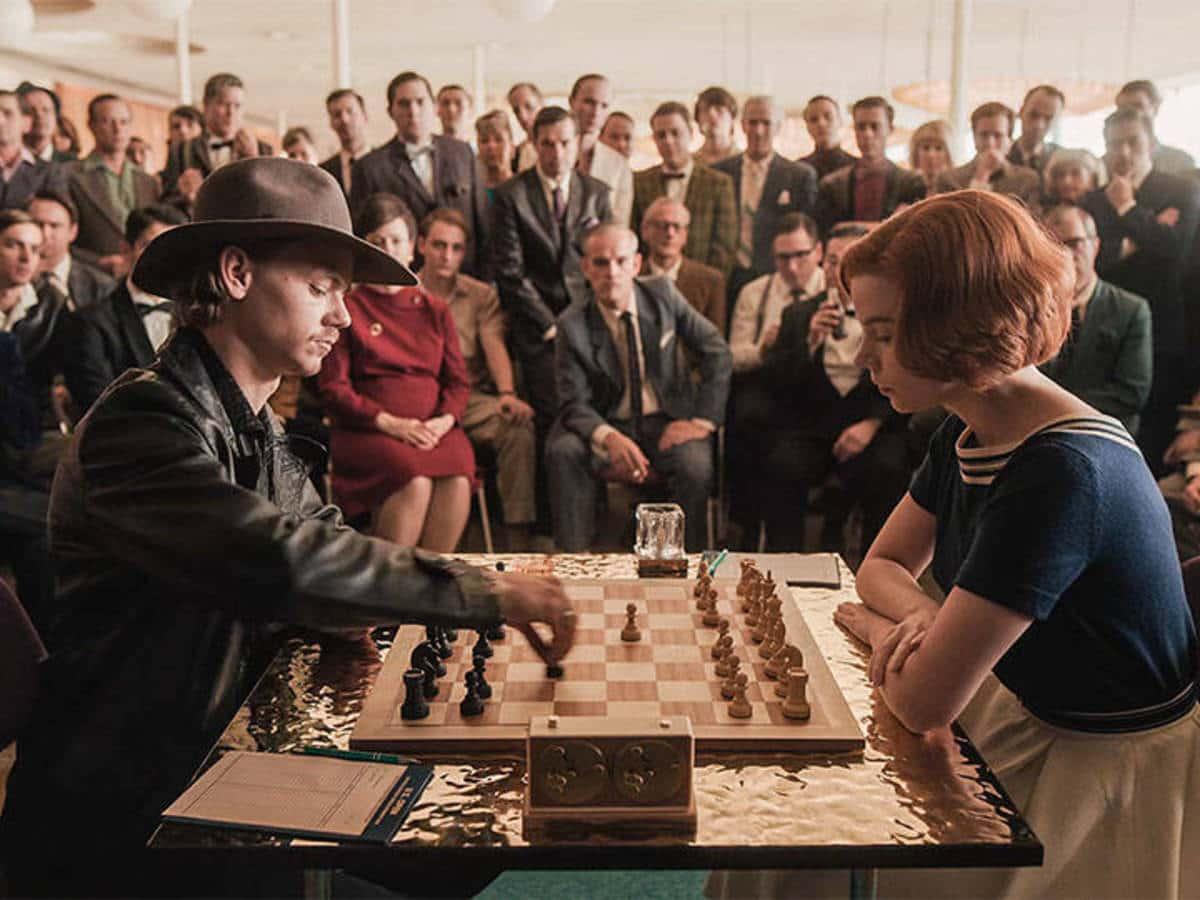 Gambito de dama una reseña a la exitosa serie de Netflix ajedres