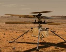 Ingenuity El primer helicóptero en volar exitosamente sobre la superficie de Marte