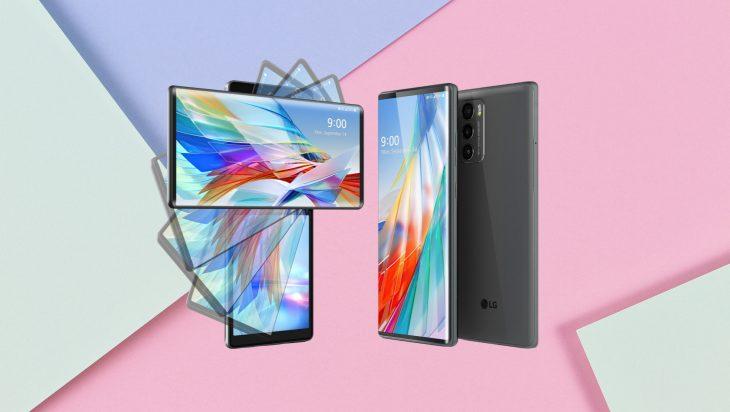 LG Wing El innovador smartphone con pantalla giratoria-min