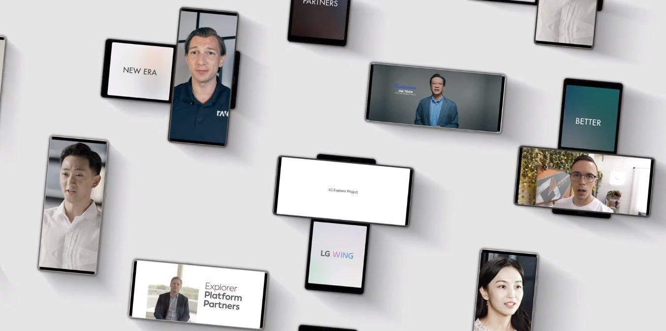 LG Wing El innovador smartphone con pantalla giratoria moderna