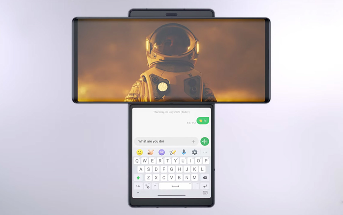 LG Wing El innovador smartphone con pantalla giratoria peru