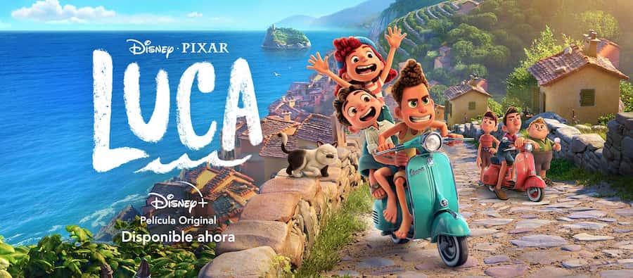 Luca (2021) de Disney + Una aventura de amistad [Reseña] peru