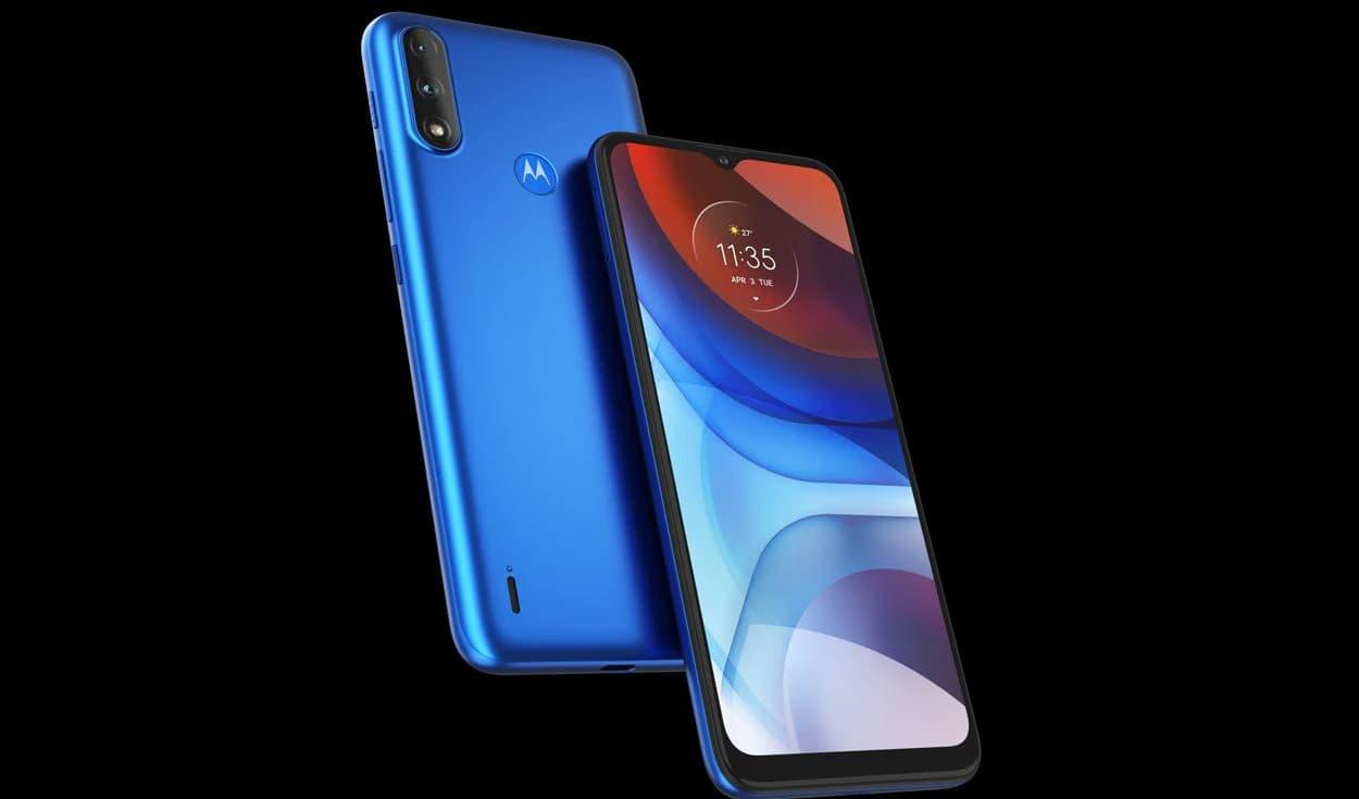 Motorola Moto E7i Power Triple cámara y 5000 mAh en un gama de entrada [Precio en Perú]