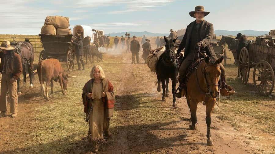 Noticias del gran mundo (2020), una película western en Netflix [Reseña]