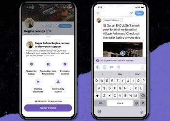 Super Follow Lo nuevo de Twitter para ofrecer contenido mediante suscripción