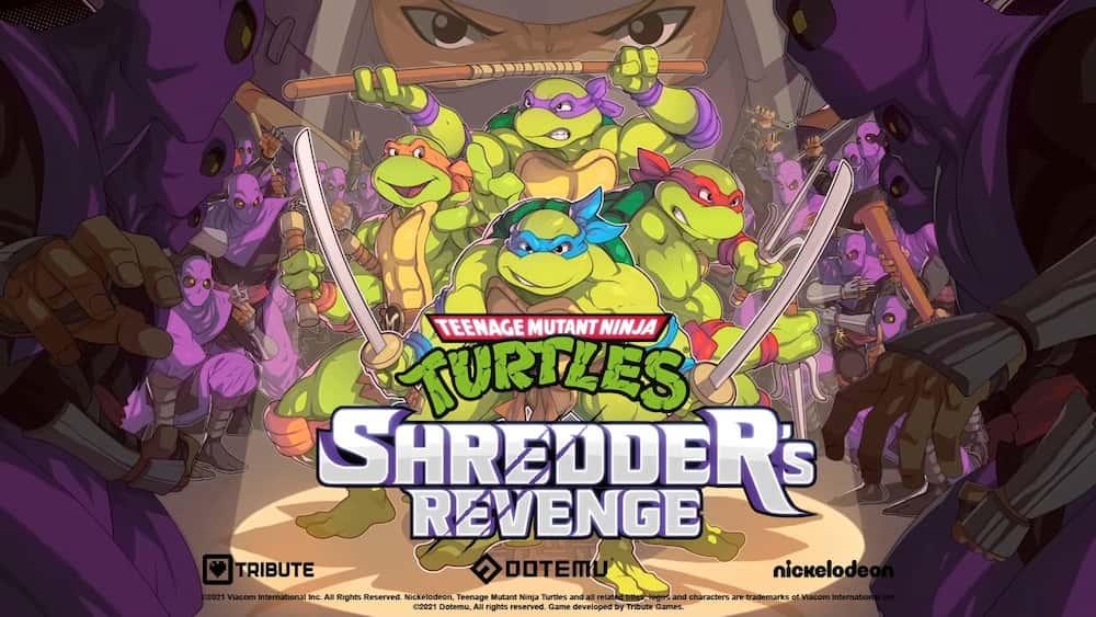 TMNT Shredder's Revenge, el nuevo juego de las Tortugas Ninja