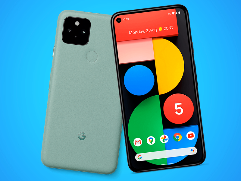 Todo lo que se sabe del Google Pixel 5 y 4a 5G celular