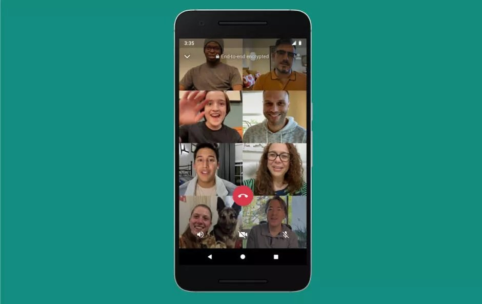 Videollamadas de Whatsapp Mejoran