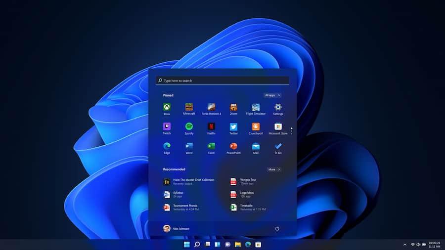 Windows 11 Conoce sus nuevas características, requisitos y fecha de lanzamientom menu