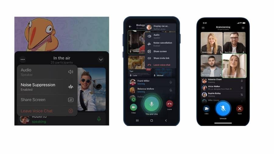 Ya puedes realizar videollamadas en Telegram con hasta 30 personas peru
