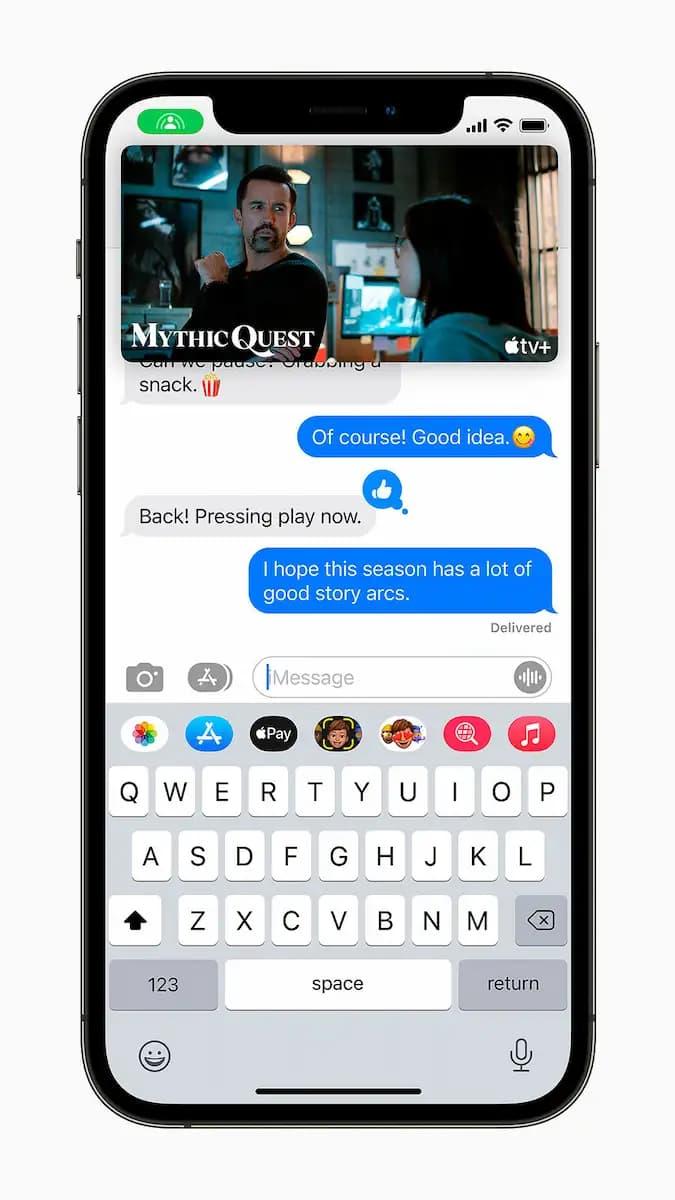 iOS 15 Conoce todo lo que trae el nuevo sistema operativo del iPhone mensajes