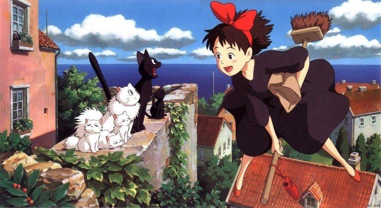 kiki entrega a domicilio Ghibli