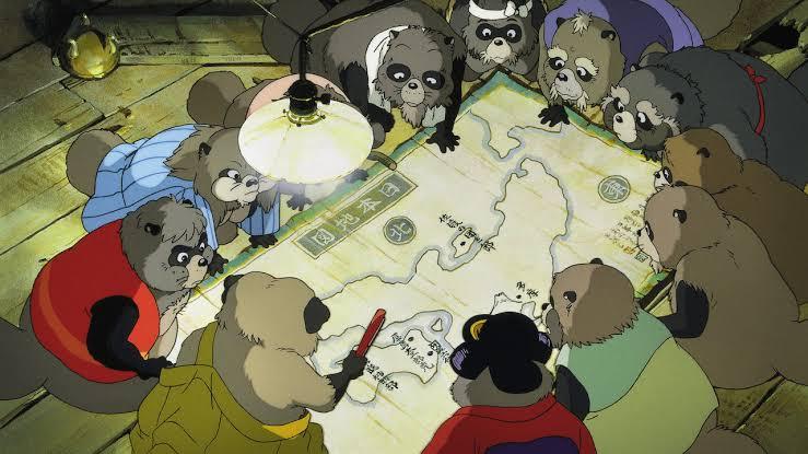 pompoko studio Ghibli