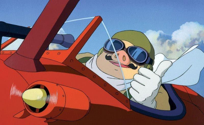 porco-rosso estudio Ghibli