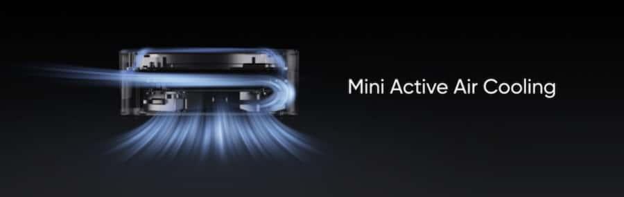 realme presentó MagDart, el primer cargador magnético inalámbrico para Android ventilacion
