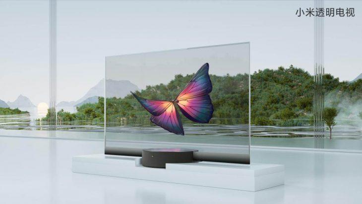 xiaomi televisor transparente
